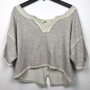 Free People | Knit Short Sleeve Top Crop